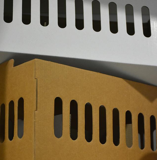 Caja de cartón Lafepack Canarias